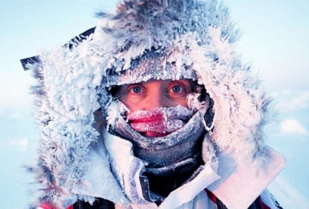 Избежать обморожения